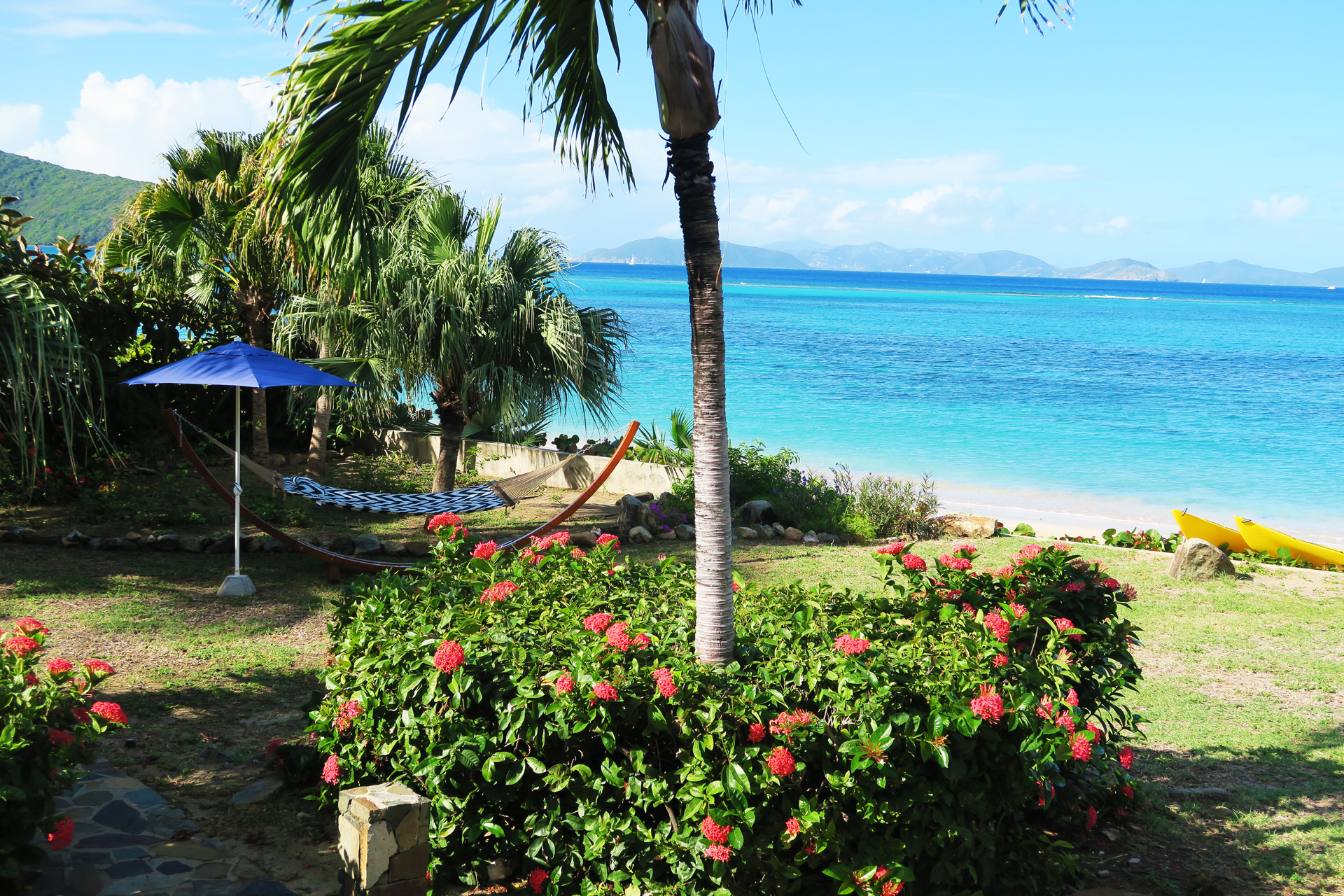 Beach Dreams - Luxurious Mahoe Bay Beachfront Villa Rental